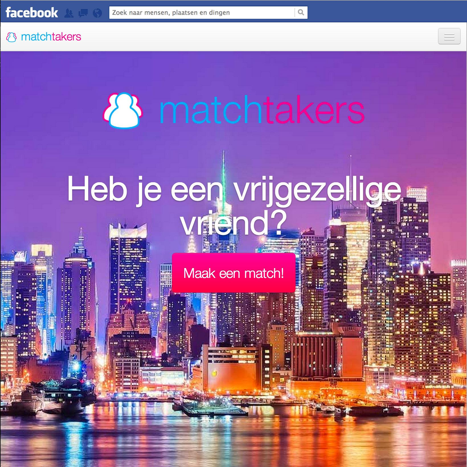 Playcept hackaton: MatchTakers – regel een blinddate voor 2 vrienden