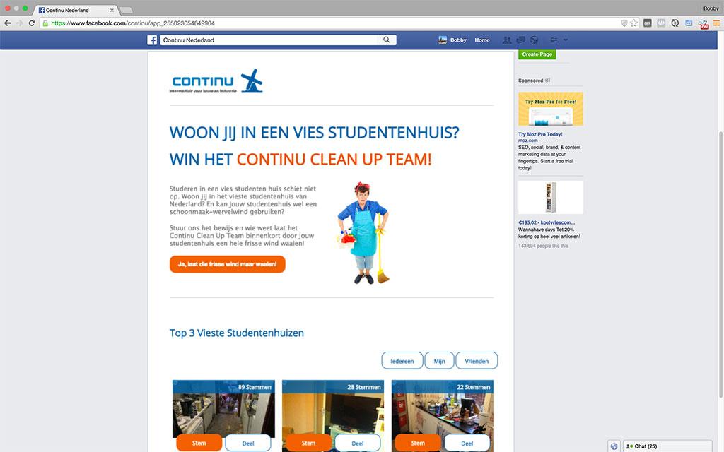 Continu CleanUp Team