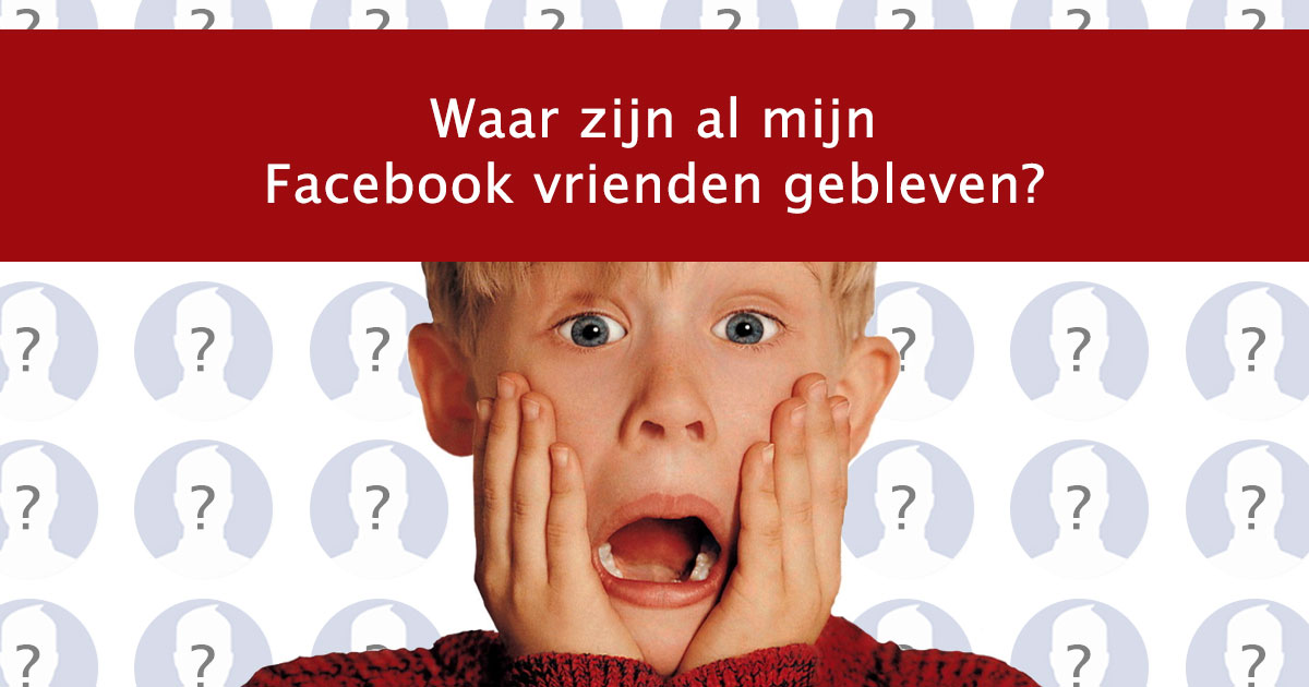 Sinds 1 mei zijn Facebook apps niet meer social by design